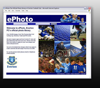 Everton Footbal Club Photo Library